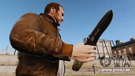 Couteau tactique v4 pour GTA 4