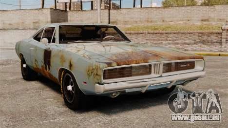 Dodge Charger RT 1969 rouillé v1.1 pour GTA 4