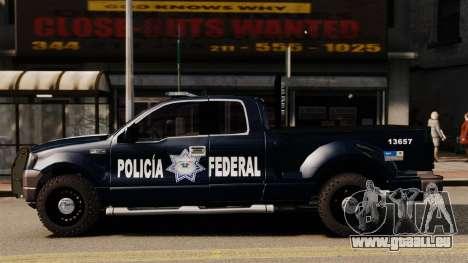 Ford F-150 De La Policia Federal [ELS & EPM] v2 pour GTA 4 est une gauche