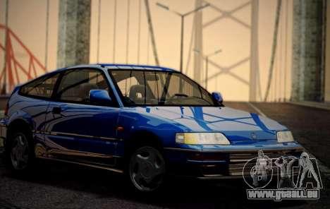 Honda CR-X 1991 pour GTA San Andreas