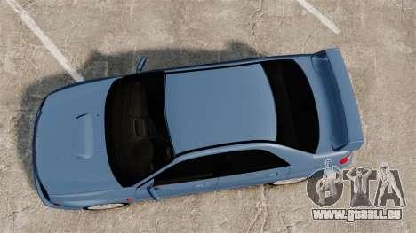 Subaru Impreza WRX 2001 pour GTA 4 est un droit