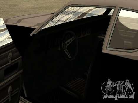 Remington für GTA San Andreas Rückansicht