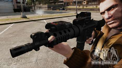 Tactique M4 v3 pour GTA 4 quatrième écran