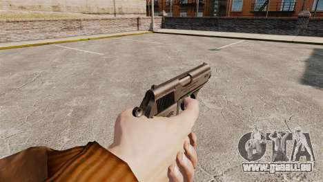 Chargement automatique v2 de pistolet Walther PP pour GTA 4 secondes d'écran