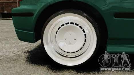 Honda Civic Al Sana pour GTA 4 Vue arrière