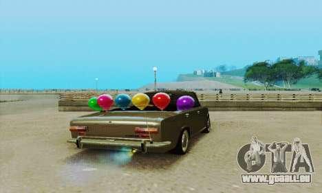 VAZ 2101 Convertible pour GTA San Andreas vue arrière