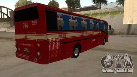 Bagong Lipunan Transit BM 384 für GTA San Andreas rechten Ansicht