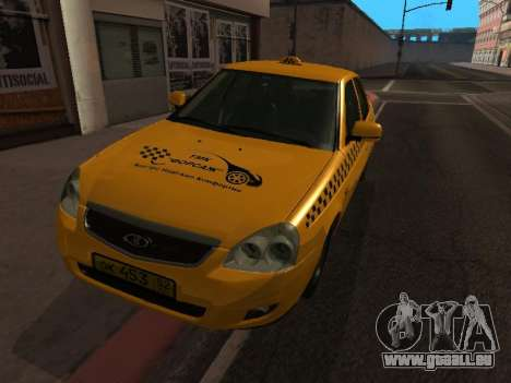 LADA Priora 2170 Taxi für GTA San Andreas