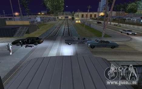 Train light pour GTA San Andreas deuxième écran