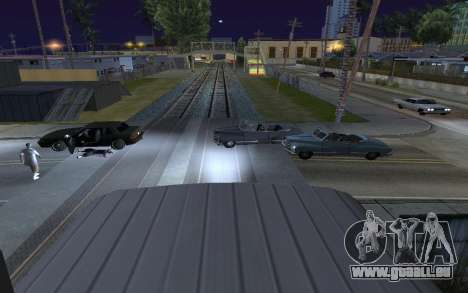 Train light für GTA San Andreas zweiten Screenshot