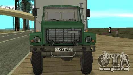 Avtolaboratoriâ GAZ 3309 Sadko pour GTA San Andreas vue de droite
