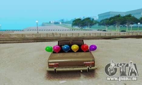 VAZ 2101 Cabrio für GTA San Andreas rechten Ansicht