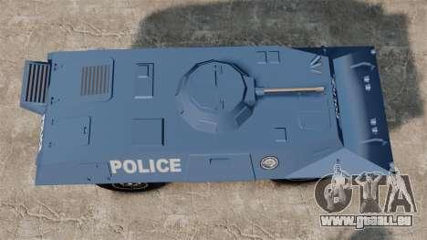 S.W.A.T. Police Van für GTA 4 rechte Ansicht