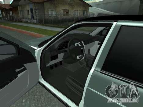 VAZ-2170 für GTA San Andreas Rückansicht