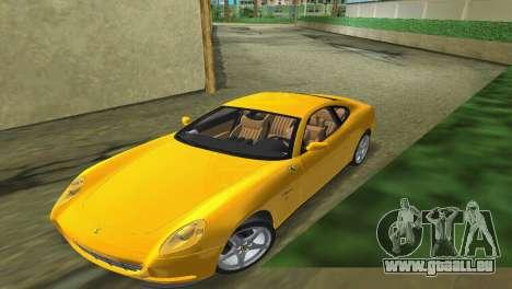 Ferrari 612 Scaglietti 2005 pour une vue GTA Vice City de la droite