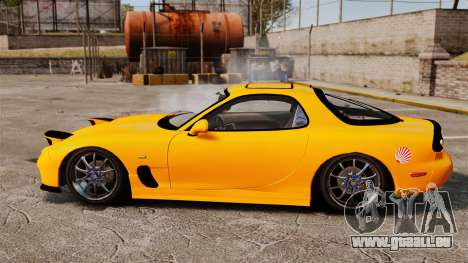 Mazda RX-7 FD3S pour GTA 4 est une gauche