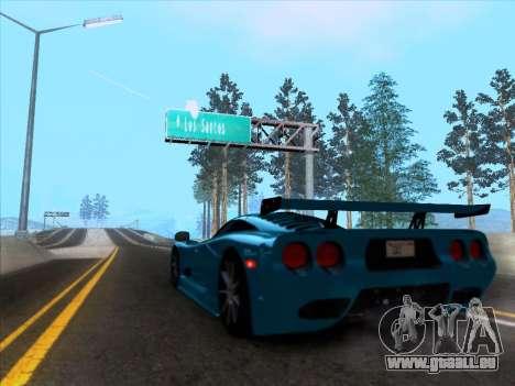 Mosler MT900S 2010 V1.0 für GTA San Andreas rechten Ansicht