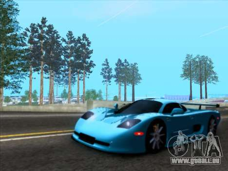 Mosler MT900S 2010 V1.0 pour GTA San Andreas