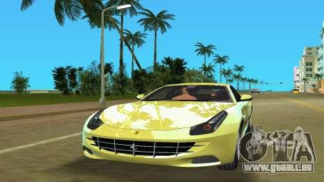 Ferrari FF 2011 für GTA Vice City linke Ansicht