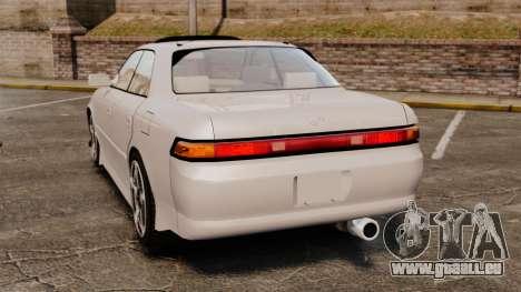 Toyota Mark II 1990 v2 für GTA 4 hinten links Ansicht