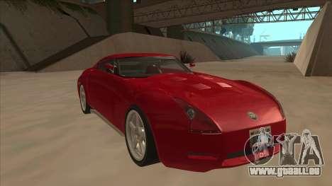 Melling Hellcat Custom pour GTA San Andreas laissé vue
