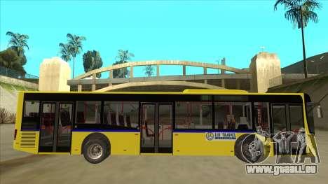 Bus Line 88 Novi Zeleznik pour GTA San Andreas sur la vue arrière gauche