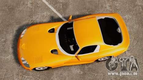 Dodge Viper 1996 für GTA 4 rechte Ansicht