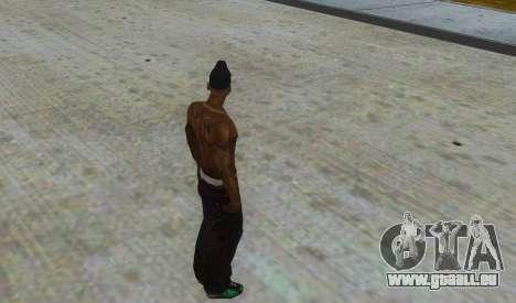 Peau OGLOC pour GTA San Andreas troisième écran
