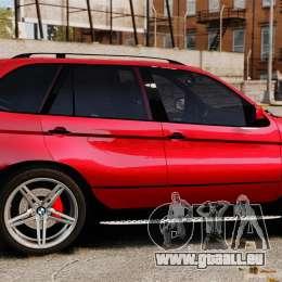 BMW X5 4.8iS v3 für GTA 4 linke Ansicht