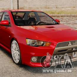 Mitsubishi Lancer Evolution X pour GTA 4