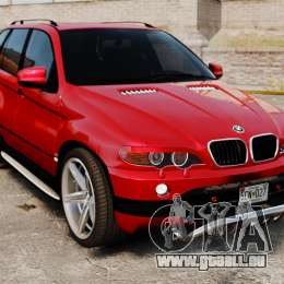 BMW X5 4.8iS v3 für GTA 4