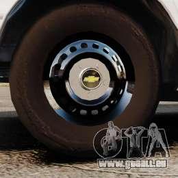 Chevrolet Caprice 1994 [ELS] pour GTA 4 Vue arrière