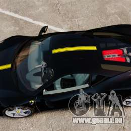 Ferrari 458 Italia 2010 Wheelsandmore 2013 für GTA 4 Innenansicht