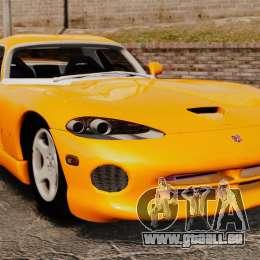 Dodge Viper 1996 pour GTA 4