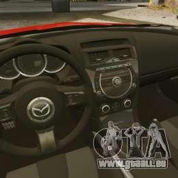 Mazda RX-8 R3 2011 für GTA 4 Innenansicht