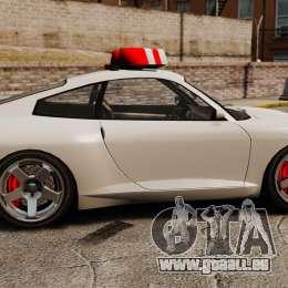 Police Comet pour GTA 4 est une gauche