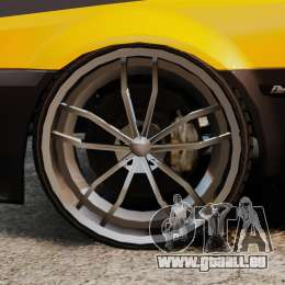 Blista Tuning pour GTA 4 Vue arrière