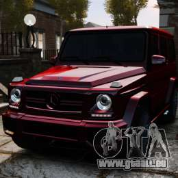 Mercedes-Benz B65 BRABUS pour GTA 4