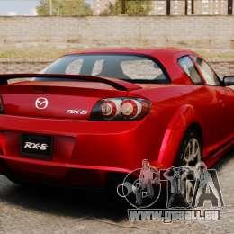 Mazda RX-8 R3 2011 für GTA 4 hinten links Ansicht