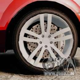 Audi Q7 für GTA 4 Rückansicht