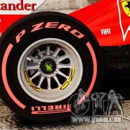 Ferrari F138 2013 v6 pour GTA 4 Vue arrière