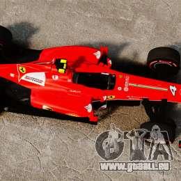 Ferrari F138 2013 v6 pour GTA 4 est un droit