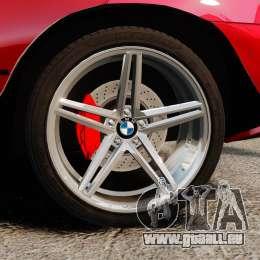 BMW X5 4.8iS v3 für GTA 4 Rückansicht