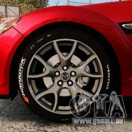 Mazda RX-8 R3 2011 für GTA 4 Rückansicht