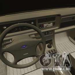 VAZ-2107 pour GTA 4 vue de dessus