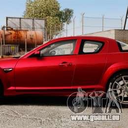 Mazda RX-8 R3 2011 für GTA 4 linke Ansicht