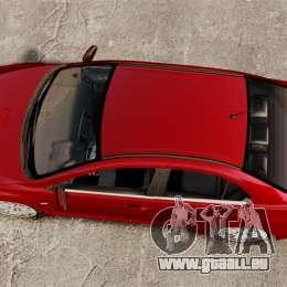 Mitsubishi Lancer Evolution X pour GTA 4 est un droit
