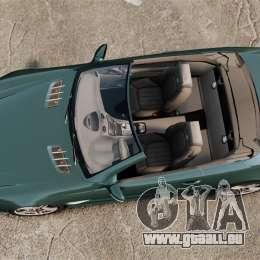 Mercedes-Benz SL65 2007 AMG v1.2 pour GTA 4 est un droit