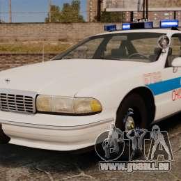 Chevrolet Caprice 1994 [ELS] pour GTA 4