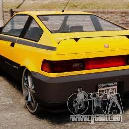 Blista Tuning pour GTA 4 Vue arrière de la gauche